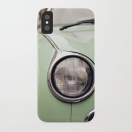 The green car iPhone Case
