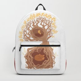 Foxes and Birds Backpack