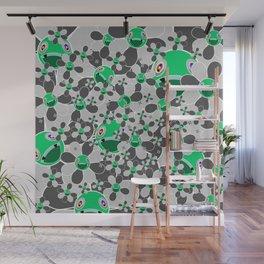 HW Flower inverse  Wall Mural