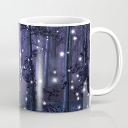 Purple Fantasy Forest Coffee Mug