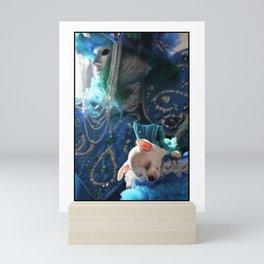 Dog's life Mini Art Print