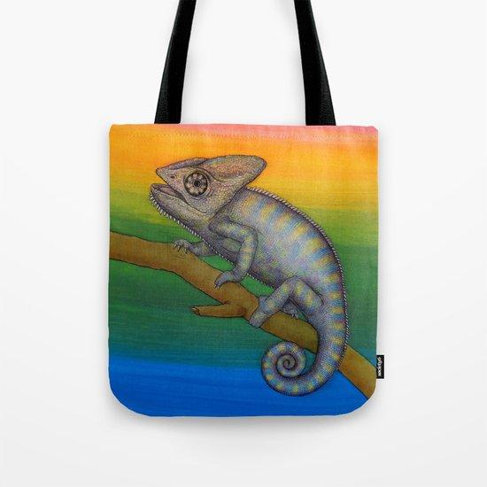 Chameleon (2) Tote Bag