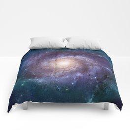 Pinwheel Galaxy Comforters