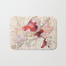 Madison map Bath Mat