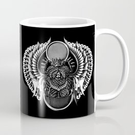 Egyptian Scarab Coffee Mug