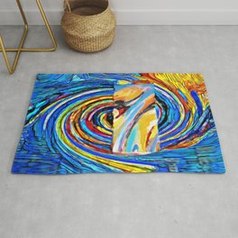 Under the spell of the storm Rug
