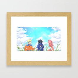 True Friends Framed Art Print
