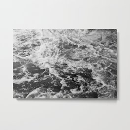 Froth Over Metal Print