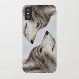 Eastern Wolf iPhone Case