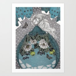 Frau Holle--Up is Down, Down is Up (The Otherworld)  Art Print
