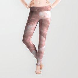 Rose quartz stone Leggings