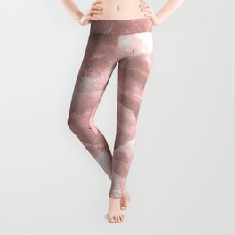 Rose quartz stone Leggings
