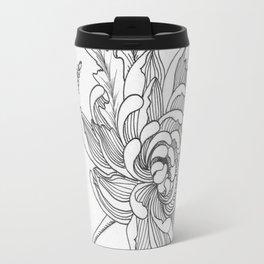 Lavender, Chrysanthemum,Chamomile Travel Mug