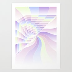 Cotton Candy Dream Art Print