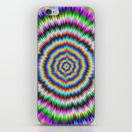 eye boggling psychedelic iPhone Skin