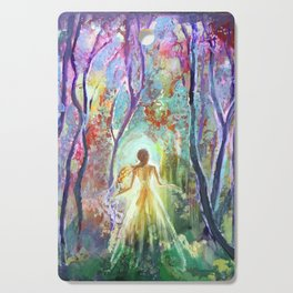 Dance of the Changing Leaves Cutting Board