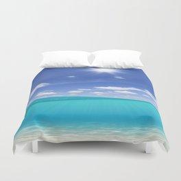 Sunny Sea Duvet Cover