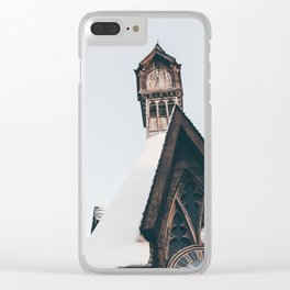 Clock Tower Clear iPhone Case