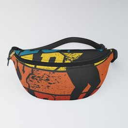 Best Dad By Par Golf Father Gift Fanny Pack