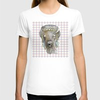 bison T-shirts featuring Bison by dogooder