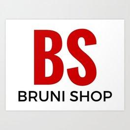 BS - Bruni Shop Art Print