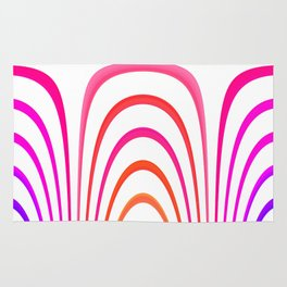 Cheerful lines Rug