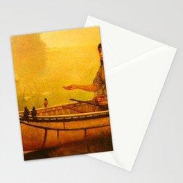Frances Anne Hopkins - Minnehaha Feeding Birds Stationery Cards