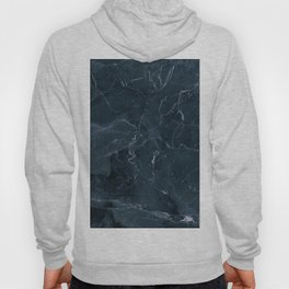 Dark blue marble texture Hoody