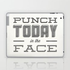Punch Today in the Face Laptop & iPad Skin