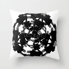 Anja Bigrell - The explosion2 Throw Pillow