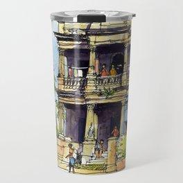 Faded Elegance, Havana. Travel Mug