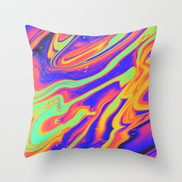EYES ON FIRE Throw Pillow
