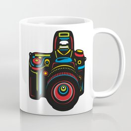Black Camera Coffee Mug