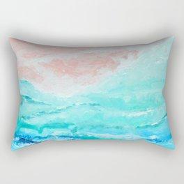 near the coast Rectangular Pillow