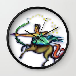 Sagittarius sign  Wall Clock