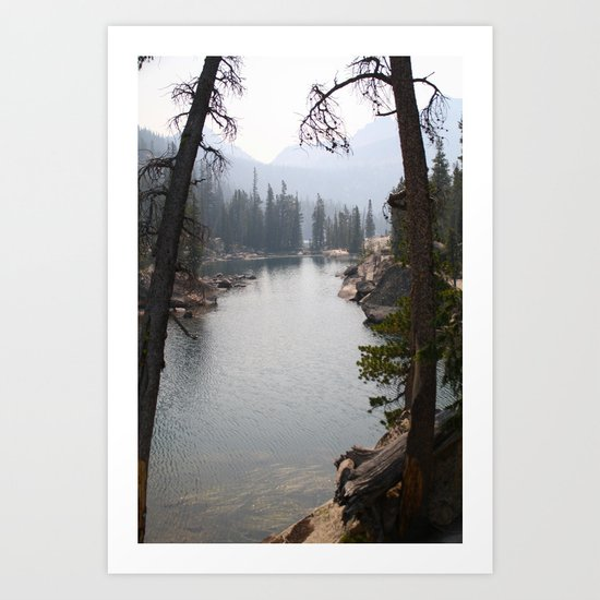 saddleback lake Art Print