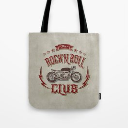 Rock 'n Roll Motorcycle Club Tote Bag