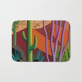 Cactus on Mountaintop Bath Mat