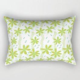 Flowers for Amelie Pattern  Rectangular Pillow