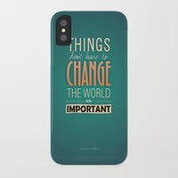 steve jobs iPhone & iPod Cases featuring steve jobs by techjulie