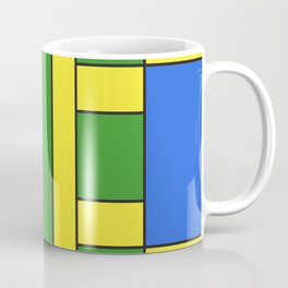 They were all yellow... blue and green Coffee Mug