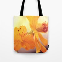 cosmos Tote Bags featuring Cosmos by DuckyB