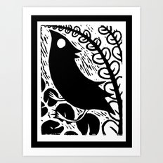 Doodlebird Print Art Print