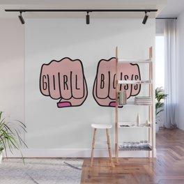 Girl boss female hands Wall Mural
