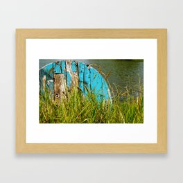 The Spool Framed Art Print