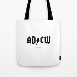 For those about to create, we salute you.  Tote Bag