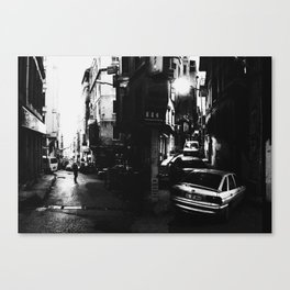 Narrow Streets of Istanbul Canvas Print