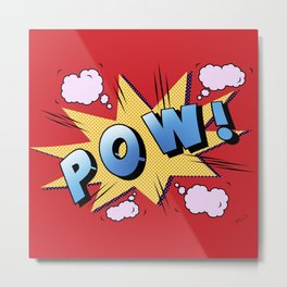 superheroes Metal Print