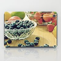 fruits iPad Cases featuring Fruits by Nieves Montano