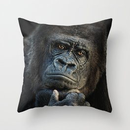 thinking about U Throw Pillow
